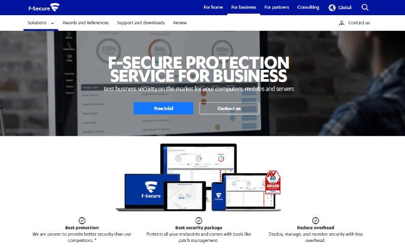 F-Secure - Best Antivirus Software