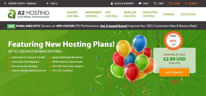 A2 Hosting - Best VPS Hosting