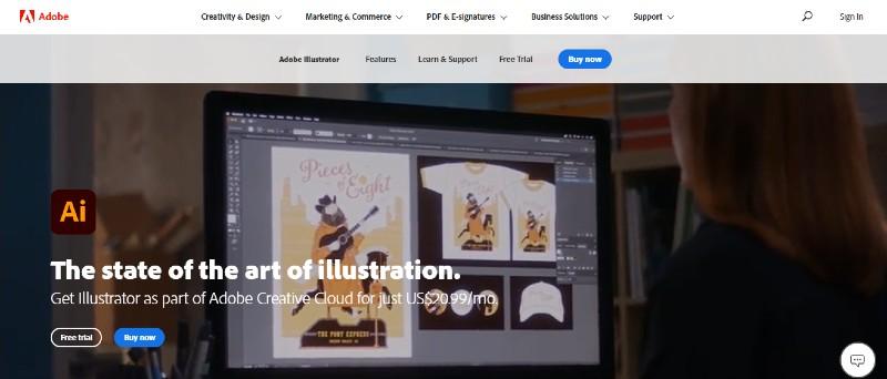 Illustrator - Best Motion Graphics Software