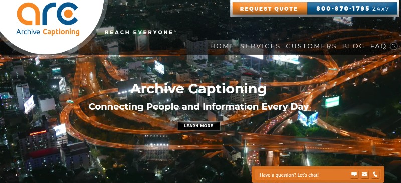 Archive Captioning - Best Closed Captioning Software