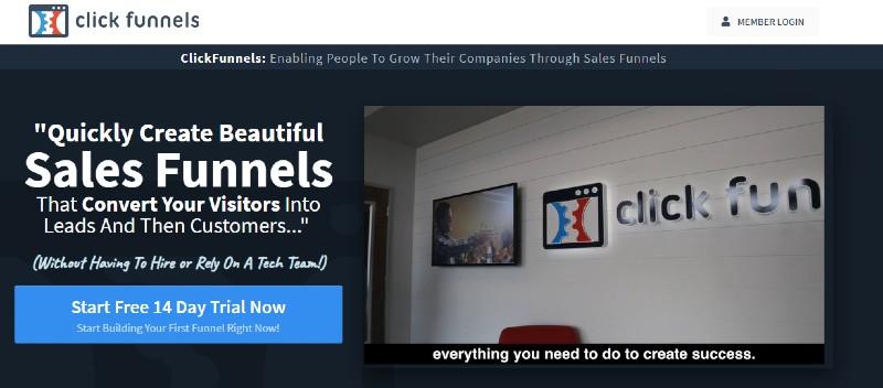 Click Funnels - Best Landing Page Builders