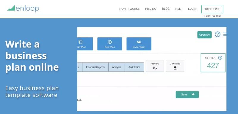 Enloop - Best Business Plan Software