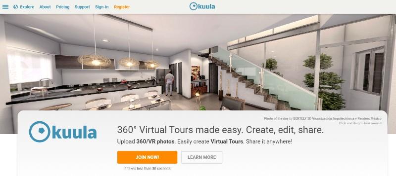 Kuula - Best Virtual Tour Software