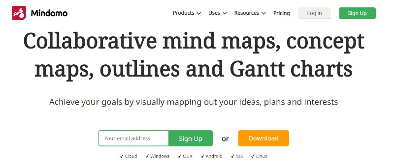Mindomo - Best Mind Mapping Software