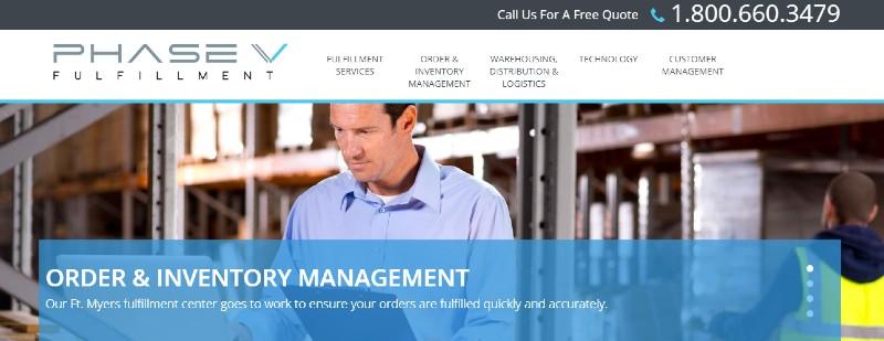 Phase V - Best Fulfillment Services