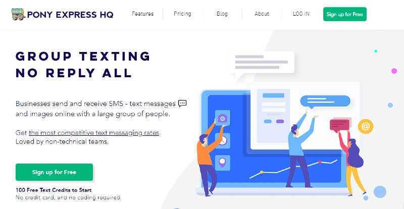 Pony Express HQ - Best Text Message Marketing Software