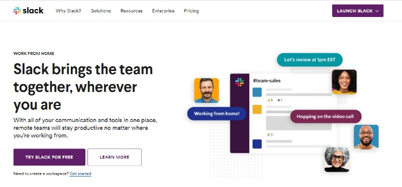 Slack - Best Employee Management Software
