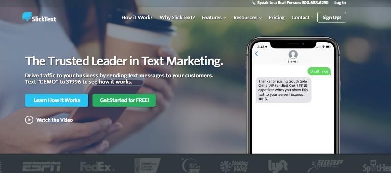 SlickText - Best Text Message Marketing Software