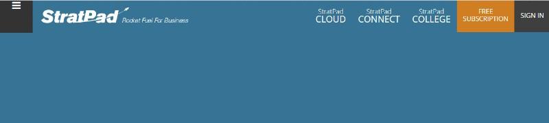 StratPad - Best Business Plan Software