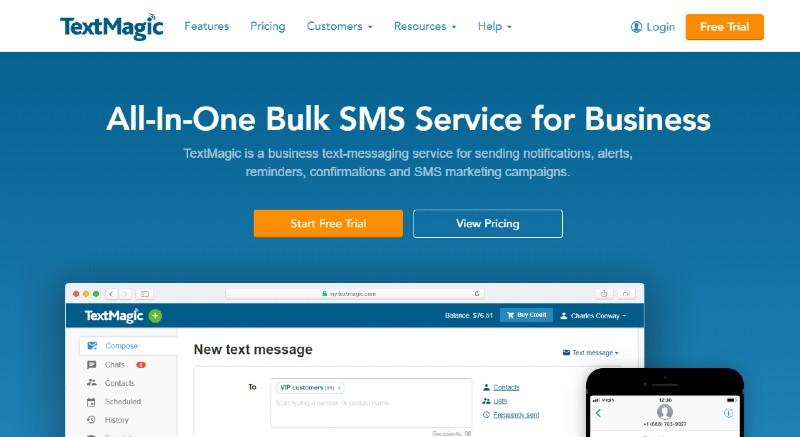 Text Magic - Best Text Message Marketing Software