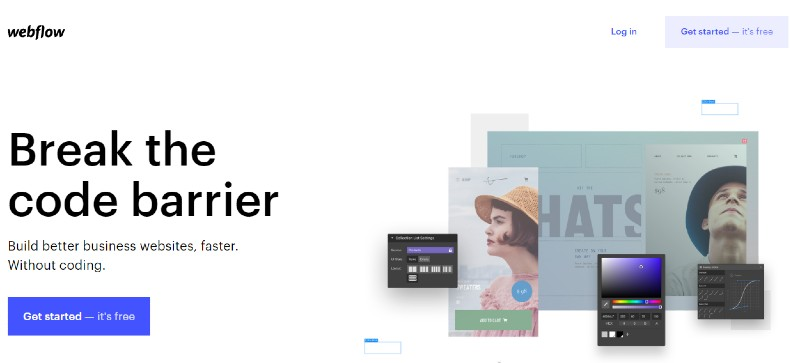 Webflow - Best Website Builder