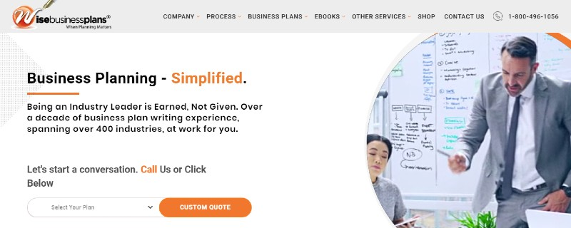 Wise Business Plans - Best Business Plan Software