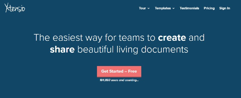 Xtensio - Best Presentation Software Programs