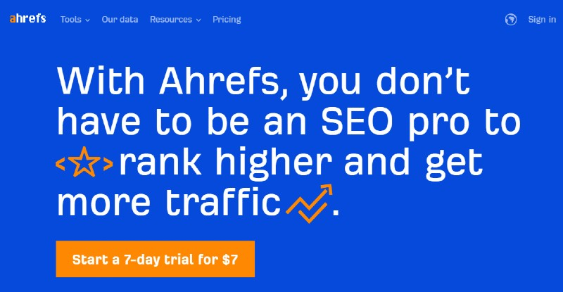 Ahrefs - Best SEO Tools for Keyword Search
