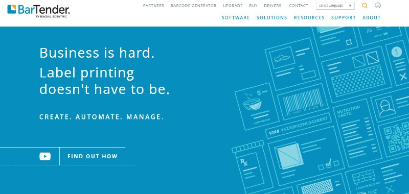 BarTender - Best Label Designing and Printing Software