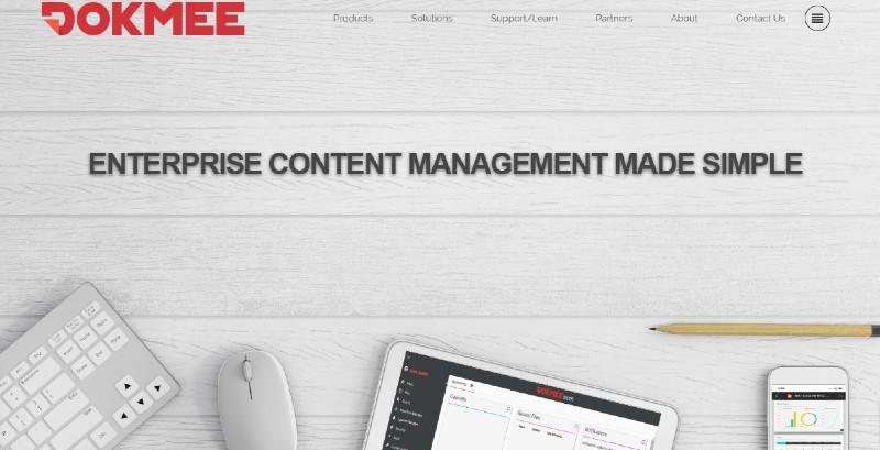 Dokmee - Best Document Management Software