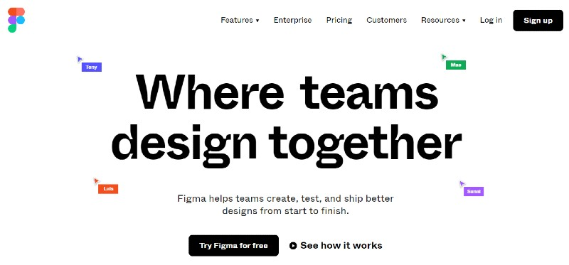 Figma - Best Wireframing and Prototyping and Mockup Tools