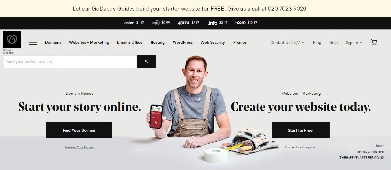 GoDaddy - Grow Your E-Commerce Business with the Best Website Builder