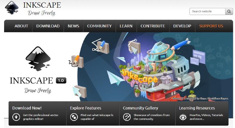 Inkscape - Best Label Designing and Printing Software