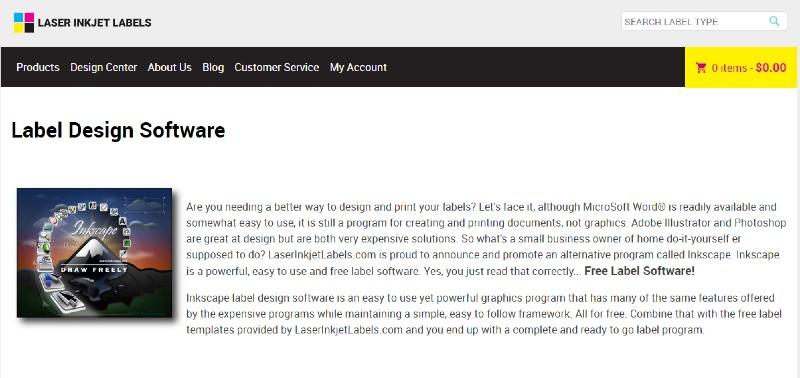 Laser Inkjet - Best Label Designing and Printing Software