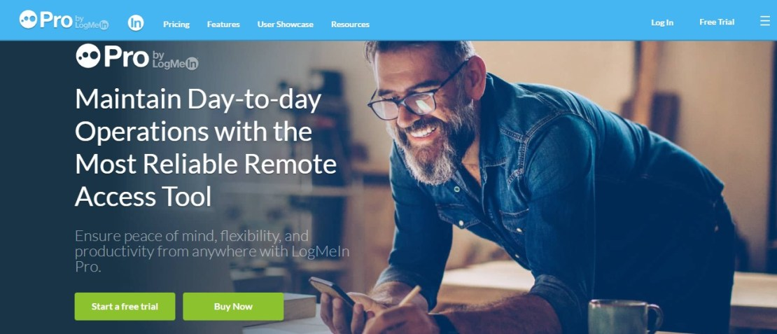 LogMeIn Pro - Best Remote Desktop Software And Access Tools