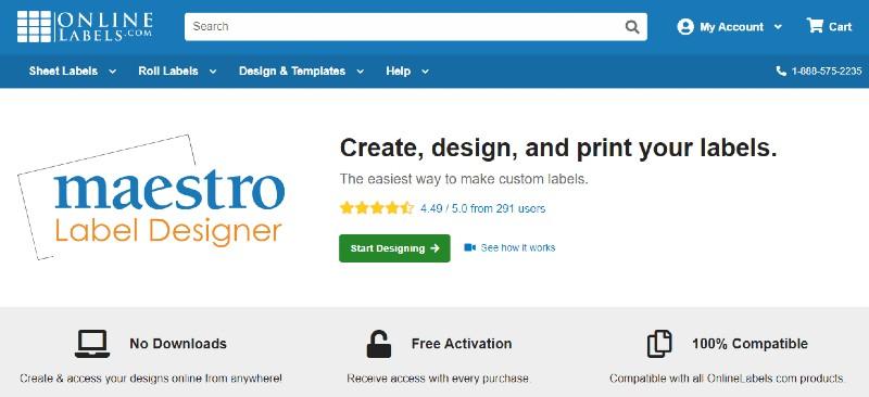 Maestro Label Designer - Best Label Designing and Printing Software