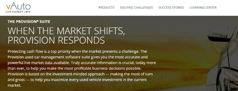 Provision Software - Best Automobile Dealer Software