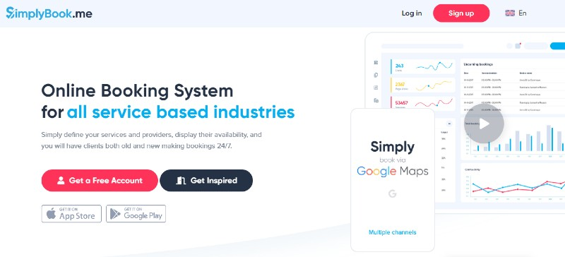SimplyBook.me -Best Scheduling Software