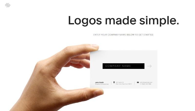 Squarespace - Best Online Logo Designer Software