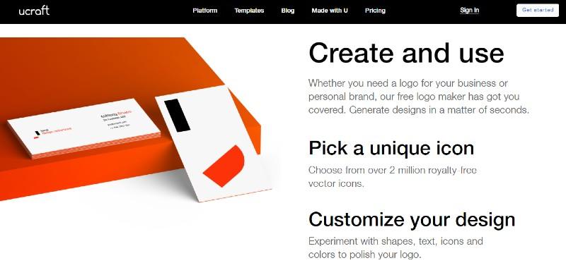 UCraft - Best Online Logo Designer Software