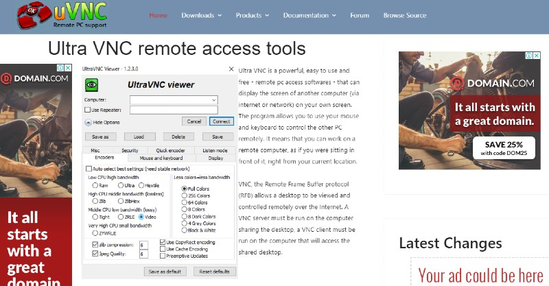 Ultra VNC - Best Remote Desktop Software And Access Tools
