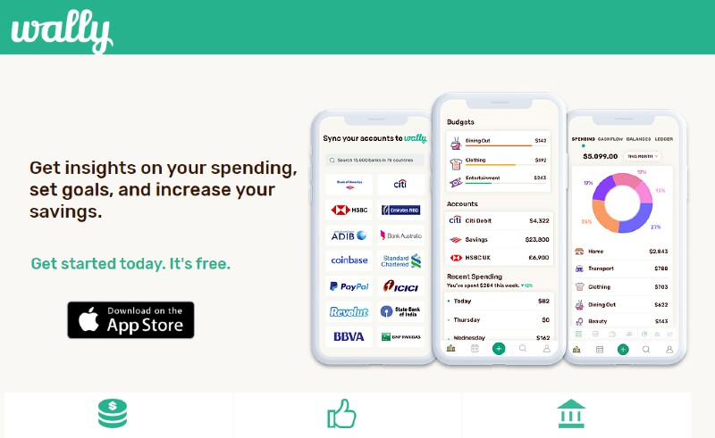 Wally - Best Expense Tracking Services