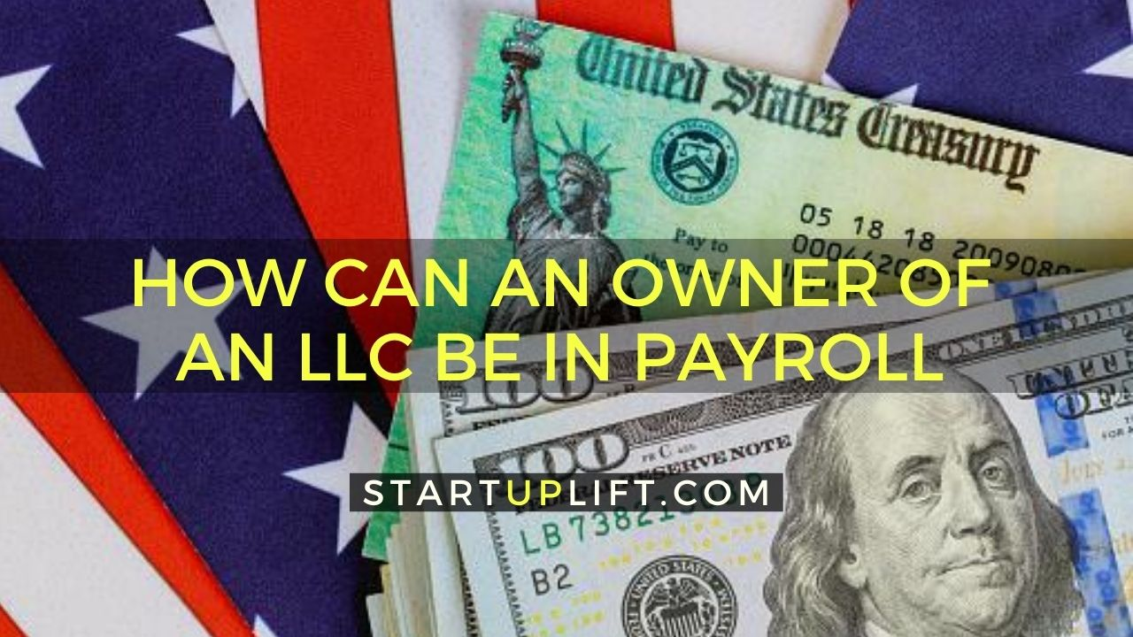 How Can An Owner Of An LLC Be In Payroll