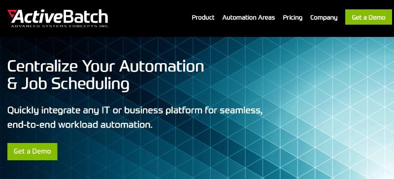ActiveBatch - Best Business Process Management Software