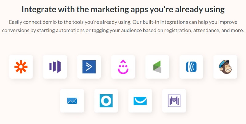 Demio Integrations - Demio Review: Webinar Software for Marketers