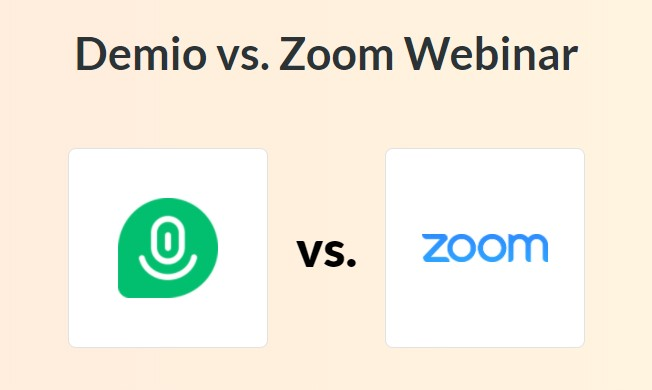 Demio vs Zoom - Demio Review: Webinar Software for Marketers
