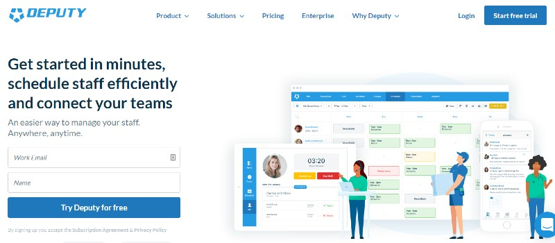Deputy - Best Employee Scheduling Software