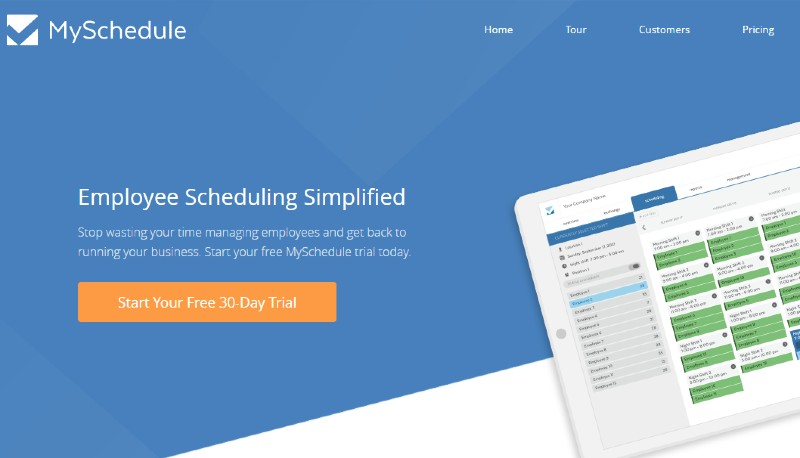 Myschedule - Best Employee Scheduling Software