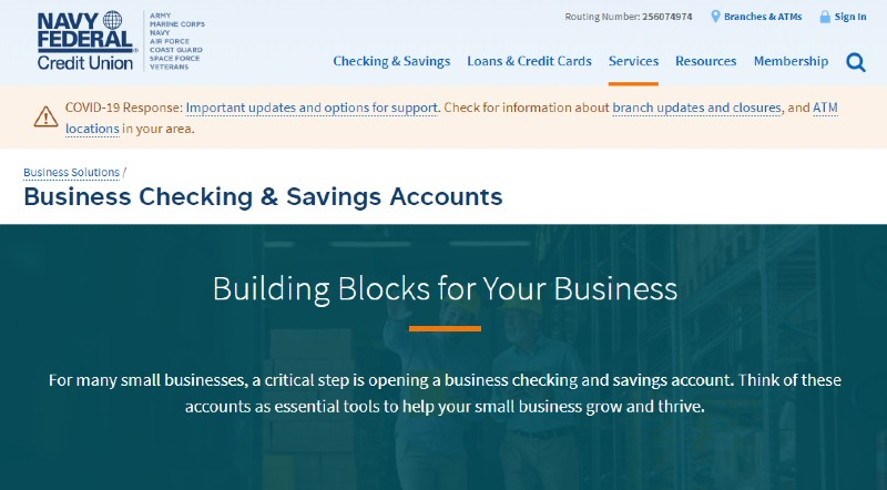 Navy Federal Credit Union - Best Business Checking Accounts for Entrepreneurs