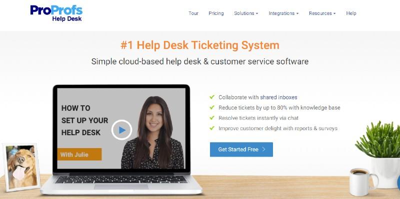 ProProfs help desk - Best Help Desk Software
