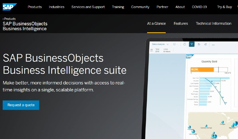 SAP BusinessObjects - Best Business Intelligence Software