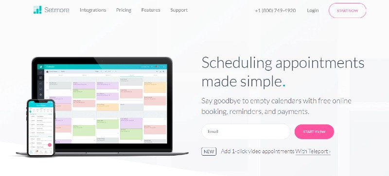 Setmore - Best Employee Scheduling Software