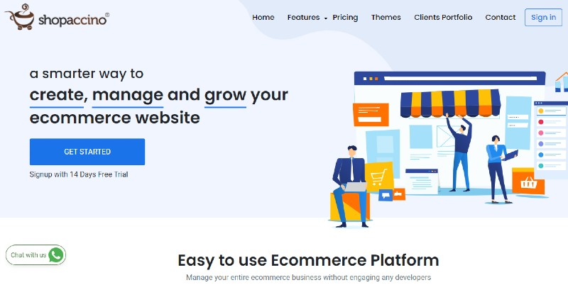 Shopaccino - The Best Shopping Cart Software Systems for Your Business