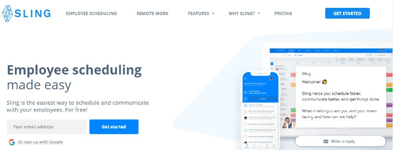 Sling - Best Employee Scheduling Software
