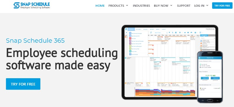 Snap Schedule - Best Employee Scheduling Software