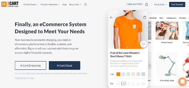 X Cart - The Best Shopping Cart Software Systems for Your Business