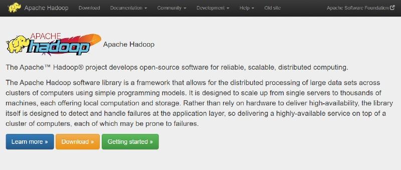 Apache Hadoop - Best Data Analytics Software