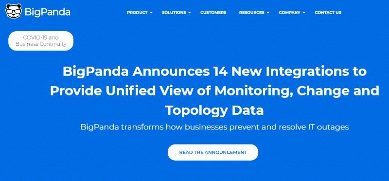 BigPanda - Best Incident Management Software