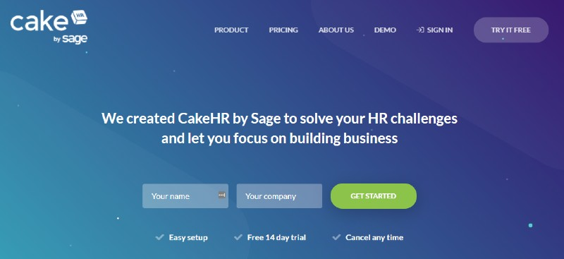 CakeHR - Best Human Resources Software for Startups