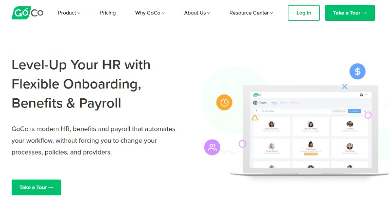 GoCo - Best Human Resources Software for Startups